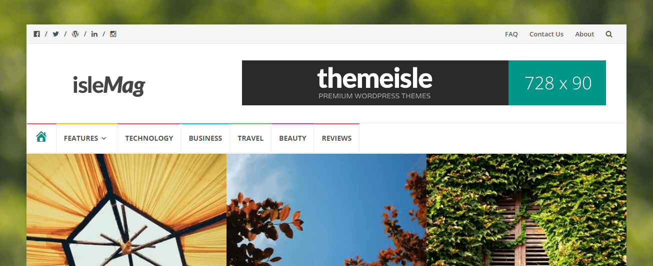 Free or premium WordPress themes? Here's IsleMag - a free theme