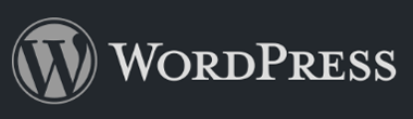 The WordPress logo.