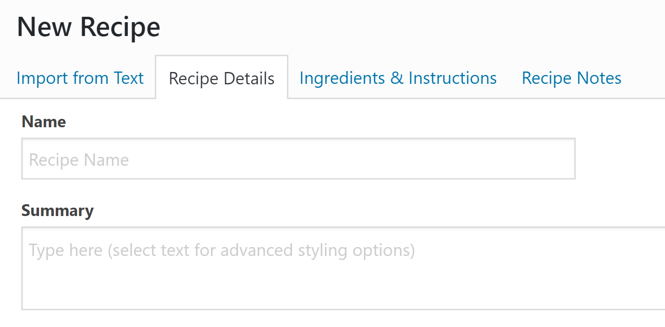 3 easy ways to add recipes to wordpress without code how to add recipes to wordpress with wp recipe maker forumfinder Choice Image