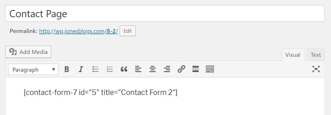 How To Set Up Contact Form  For Beginners