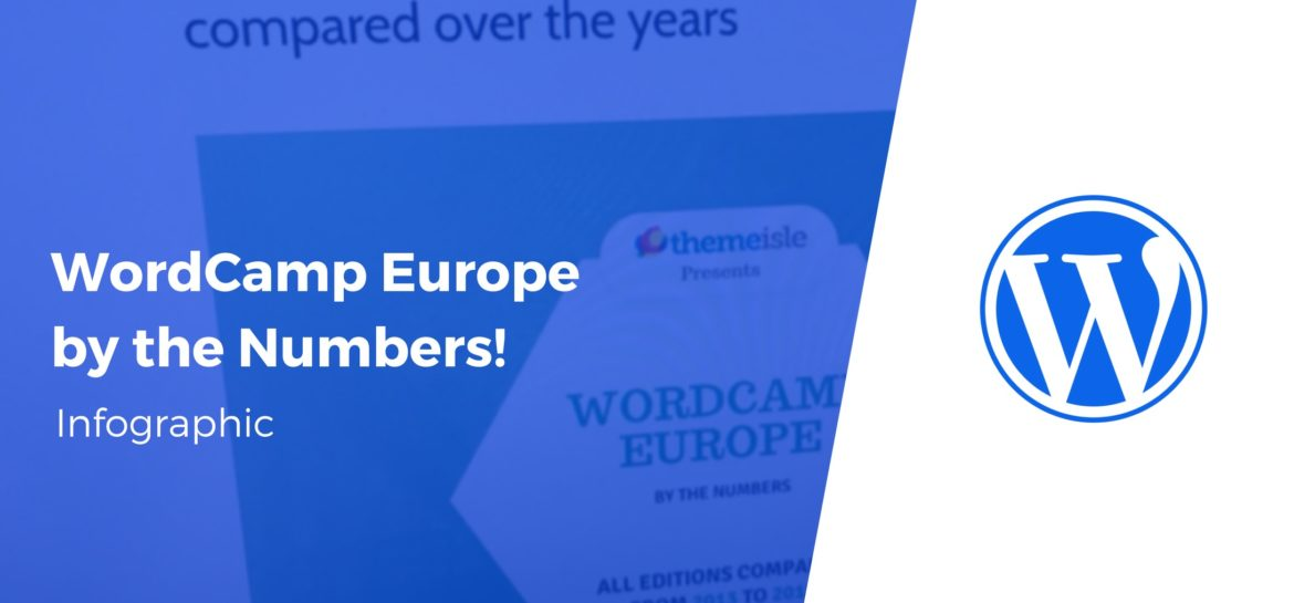 wordcamp europe by the numbers