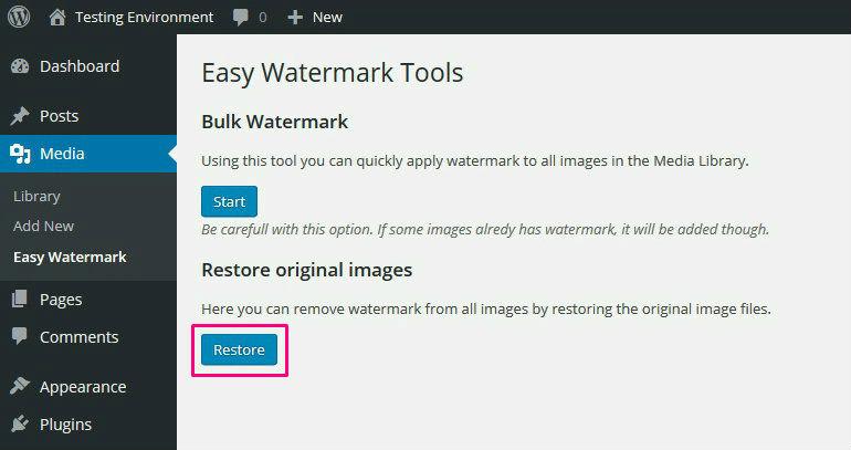 Easy Watermark Remove Watermarks