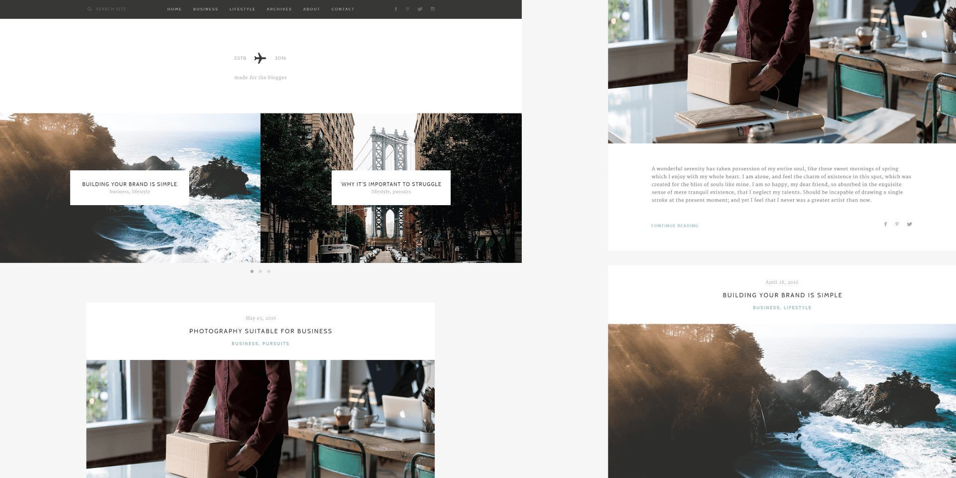 In the Works: Our Most Exciting Free Blogging Theme + Free Add-Ons for Life