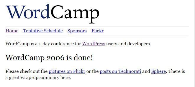wordcamp san francisco 2006
