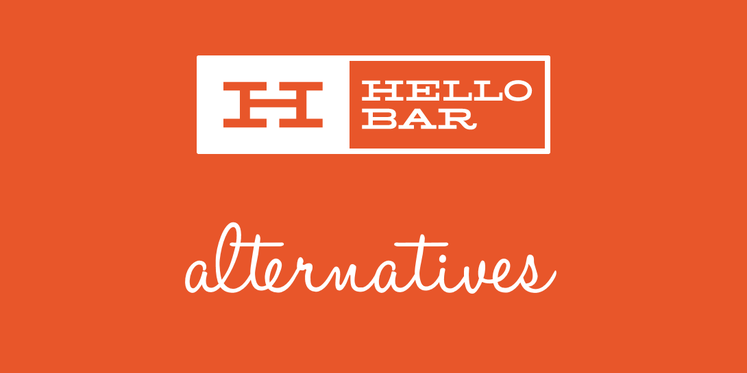 hello bar alternatives