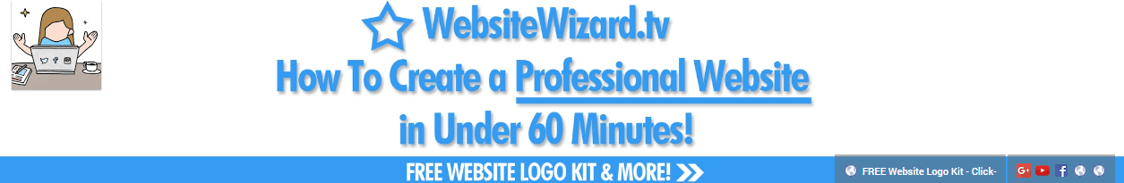 WebsiteWizard.tv's channel header.