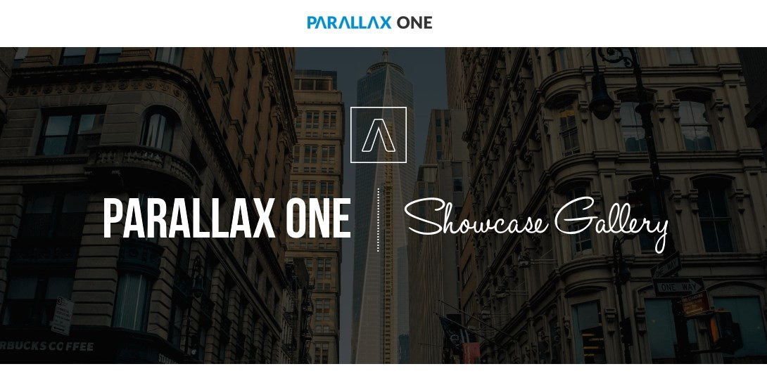 Parallax One Is 1 Year Old! Here's a Showcase Gallery of Awesome User Sites Built With It