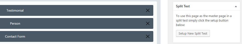 Simple Page Tester alongside the WordPress editor.