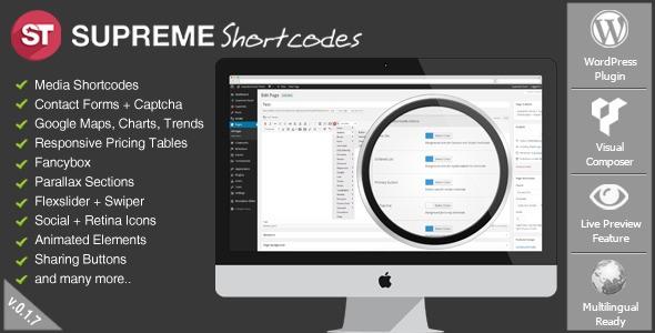 supreme shortcodes