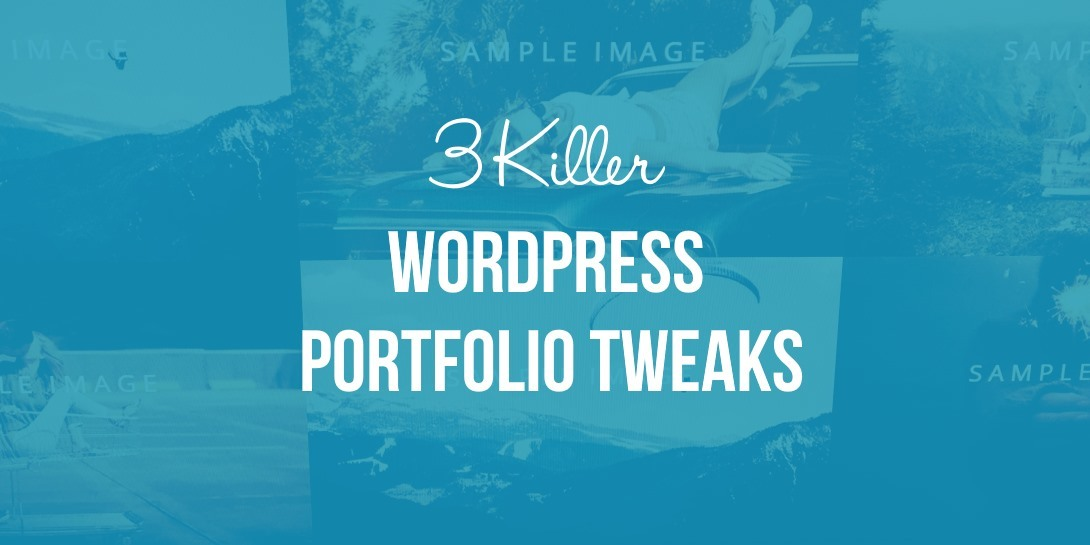 WordPress Portfolio Tweaks