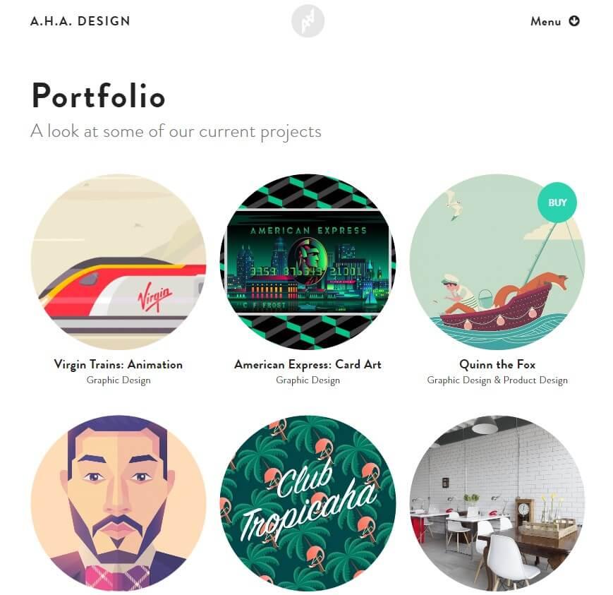 A.H.A. Design portfolio