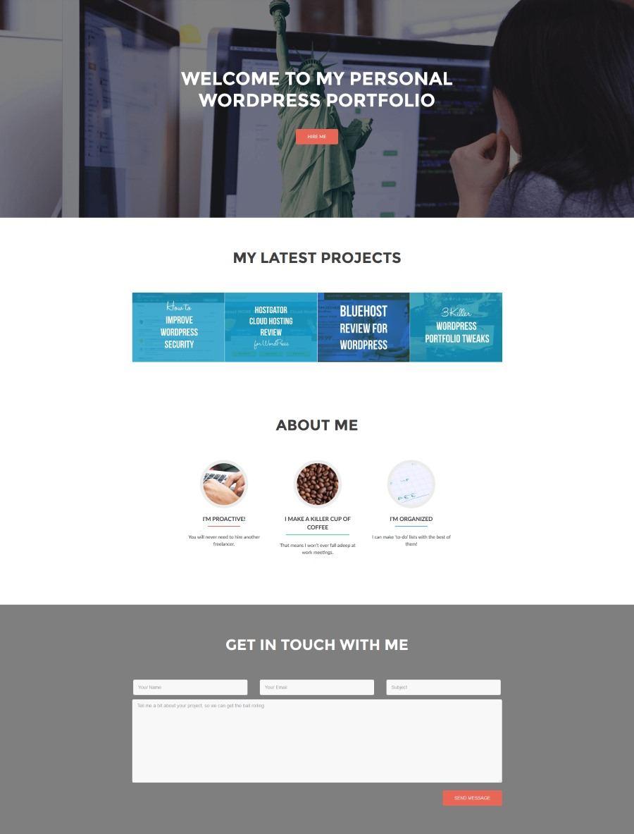 How To Create A Portfolio Site On Wordpress In 8 Steps Themeisle