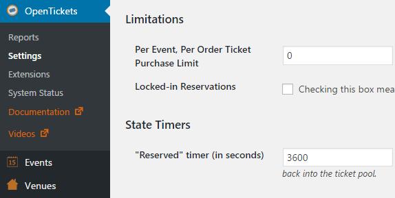 Un ejemplo de una extensi贸n de WooCommerce para vender boletos en l铆nea.