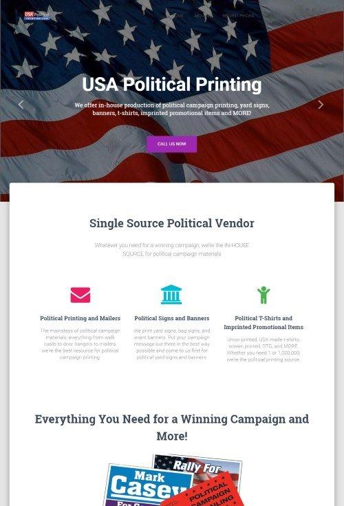 USA Political Printing