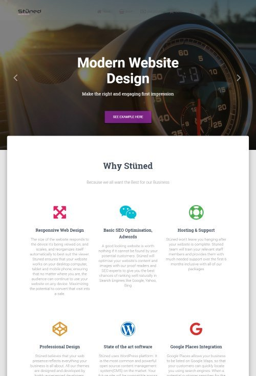 Stuned Graphical and Web Design