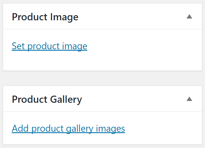 The option to set images for your products.