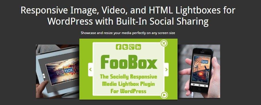 FooBox official WordPress lightbox plugin page