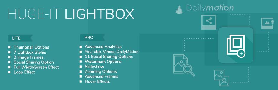 Lightbox by Huge-IT official WordPress lightbox plugin page