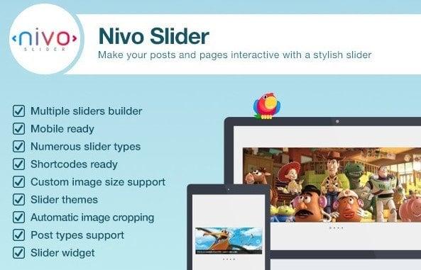 Best WordPress lightbox plugins: Nivo Slider