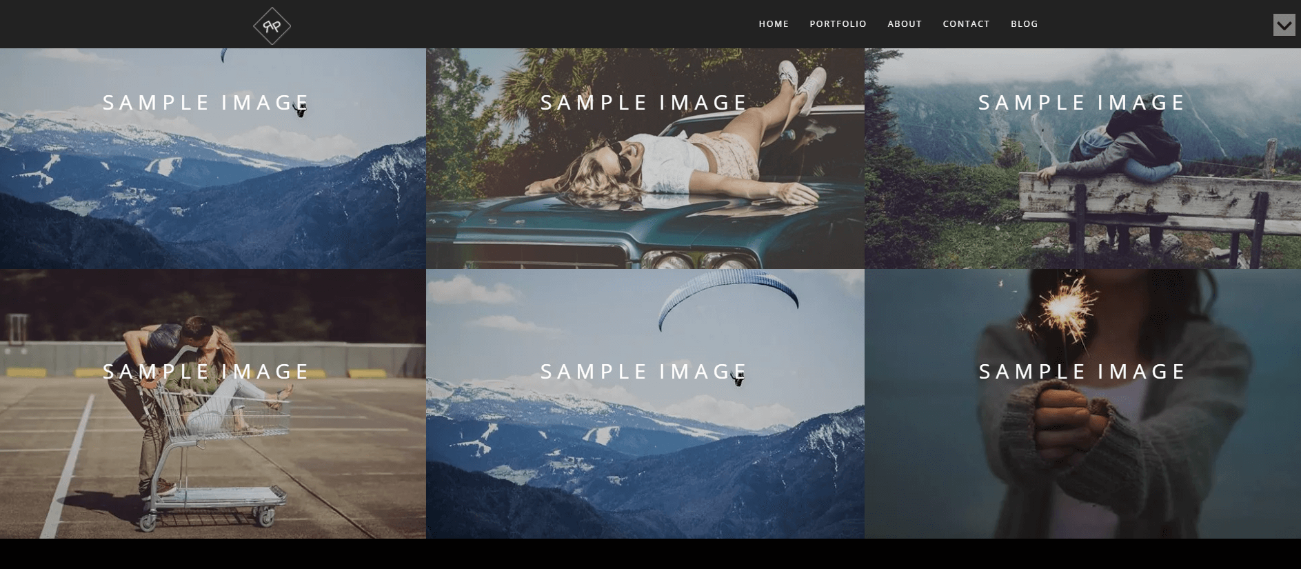 A WordPress photography website built with the Rokophoto theme.