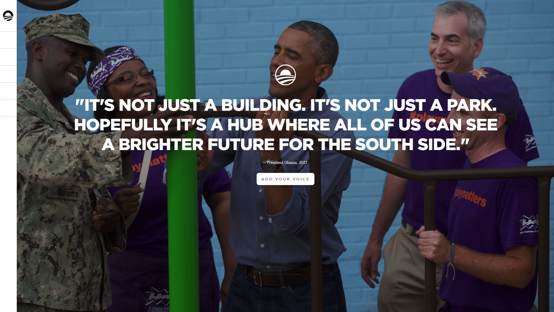 Obama-org-WordPress-Front-Page