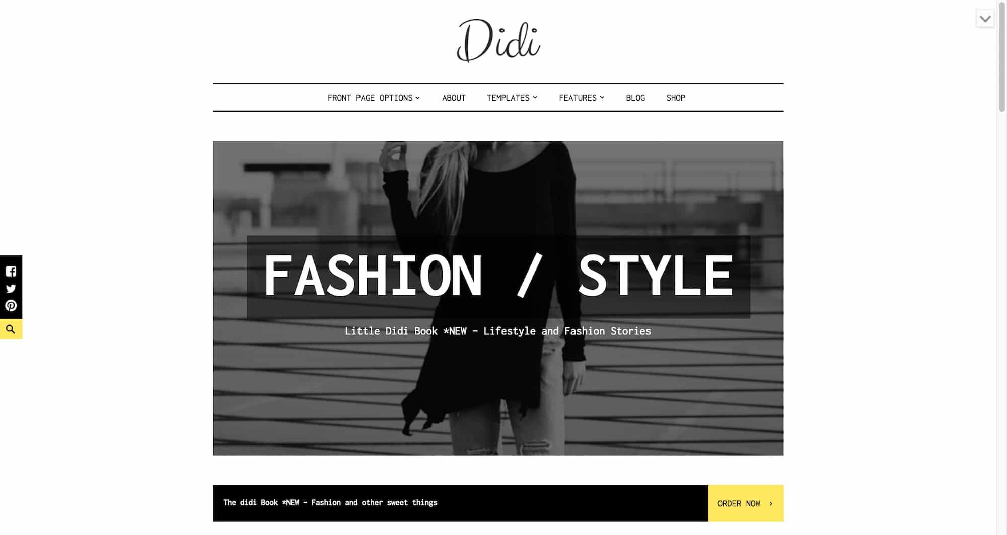Didi WordPress theme