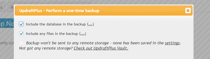 How to back up your site before changing WordPress themes