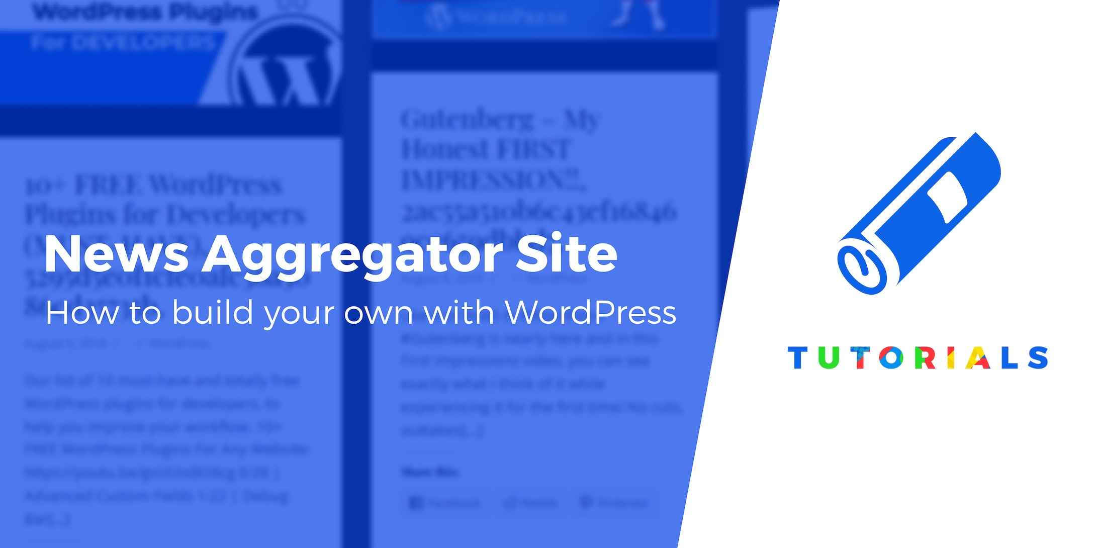 Create a WordPress News Aggregator Website