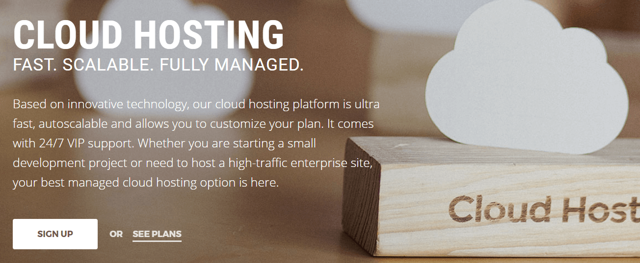 The SiteGround Cloud Hosting plan helps you prepare for an increase in traffic.