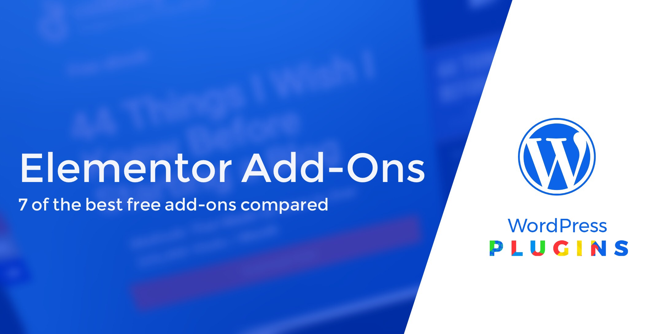 8 Best Free Elementor Add-Ons Compared