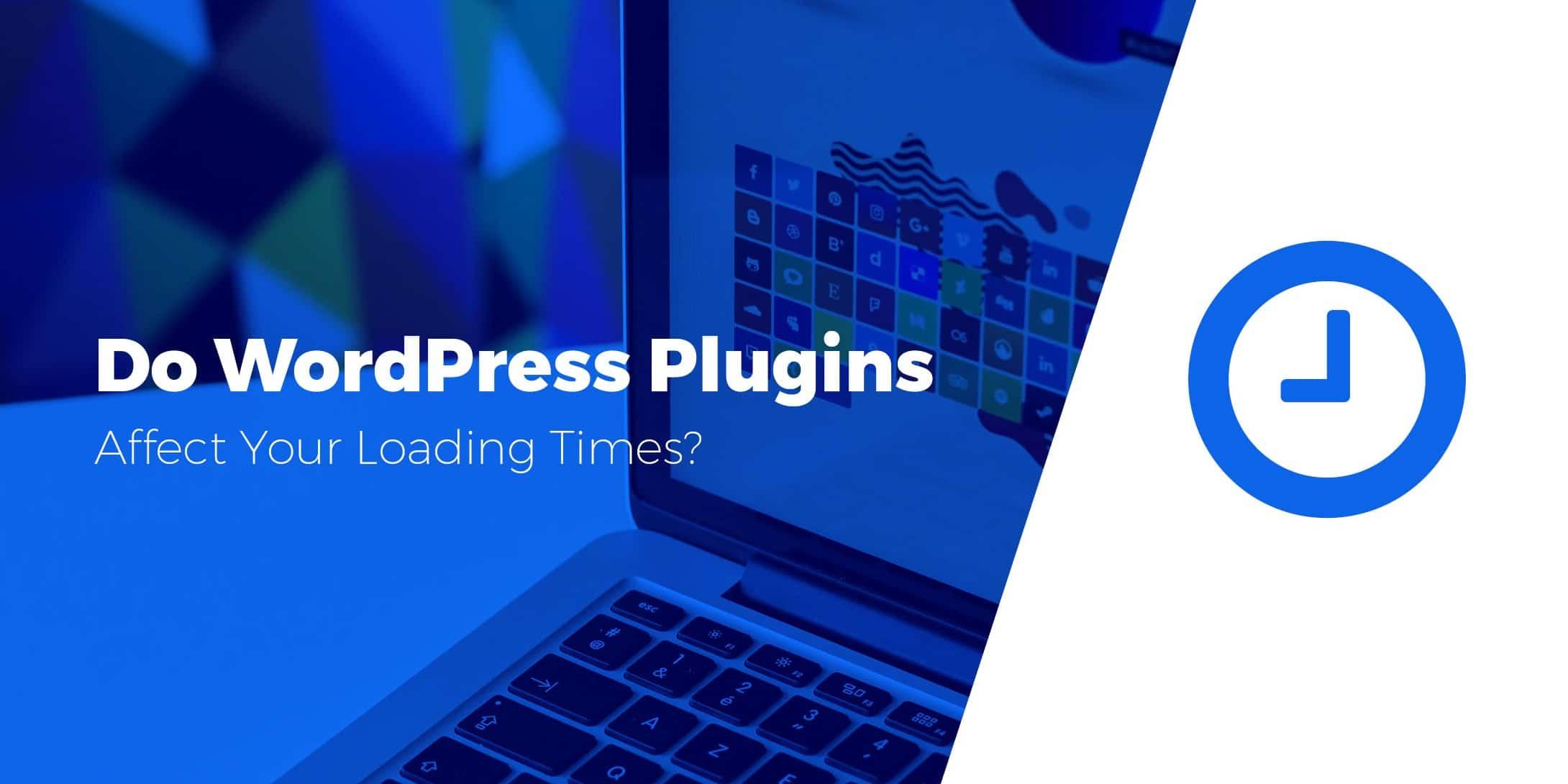 plugins affect WordPress performance