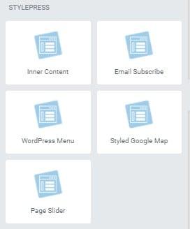 StylePress for Elementor - free Elementor add-ons
