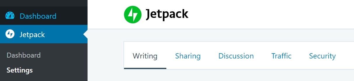 Jetpack Setting