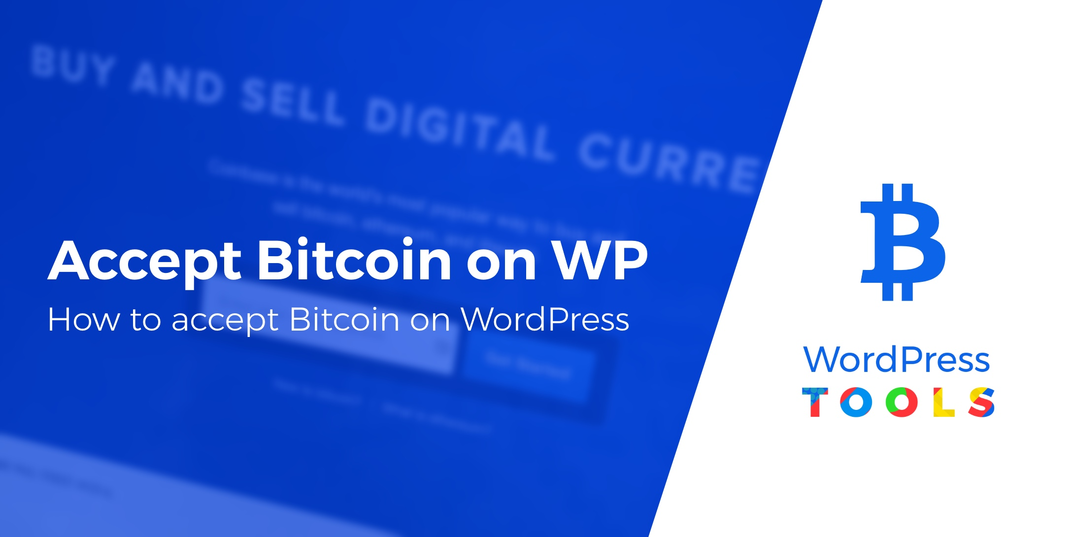 How to accept Bitcoin on WordPress
