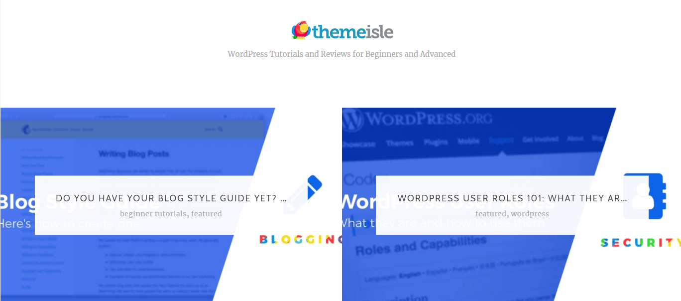 The ThemeIsle blog is a great place to learn about WordPress