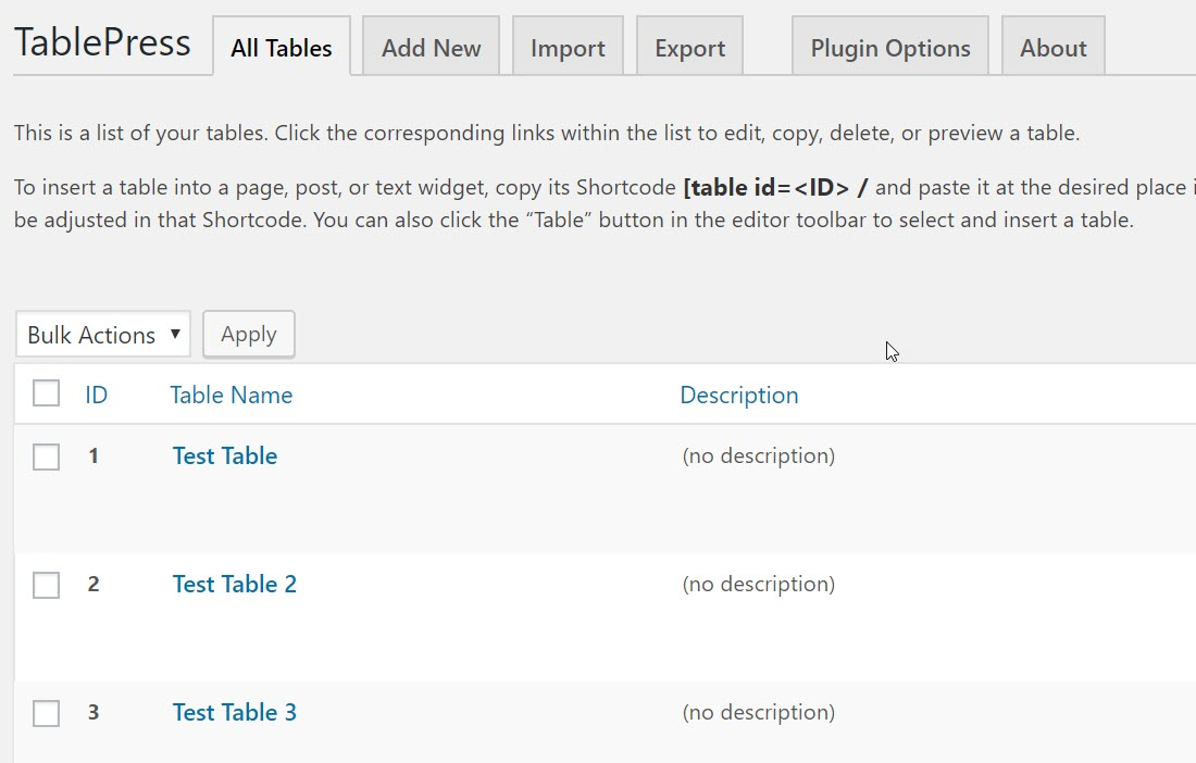 Beginner's Guide: How to Add Tables in WordPress Using