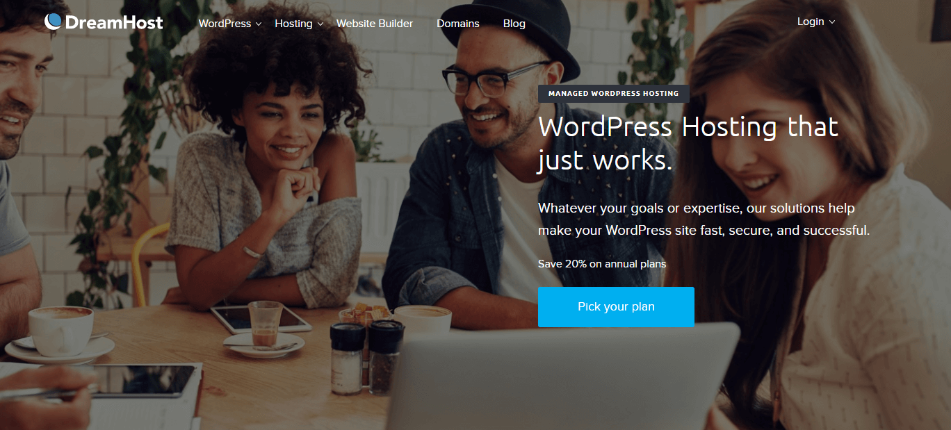 DreamHost review for WordPress intro