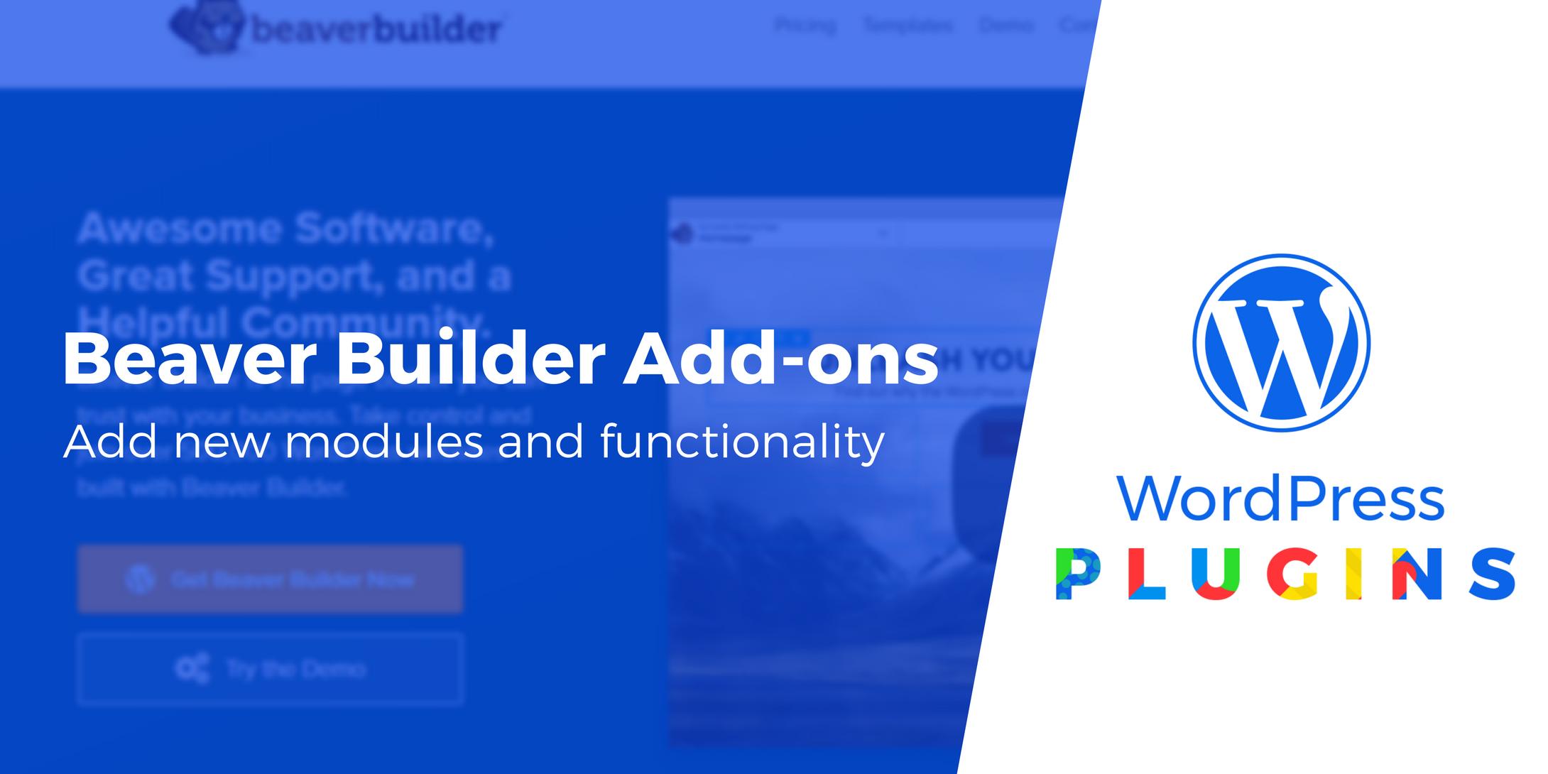 Beaver Builder Add-ons