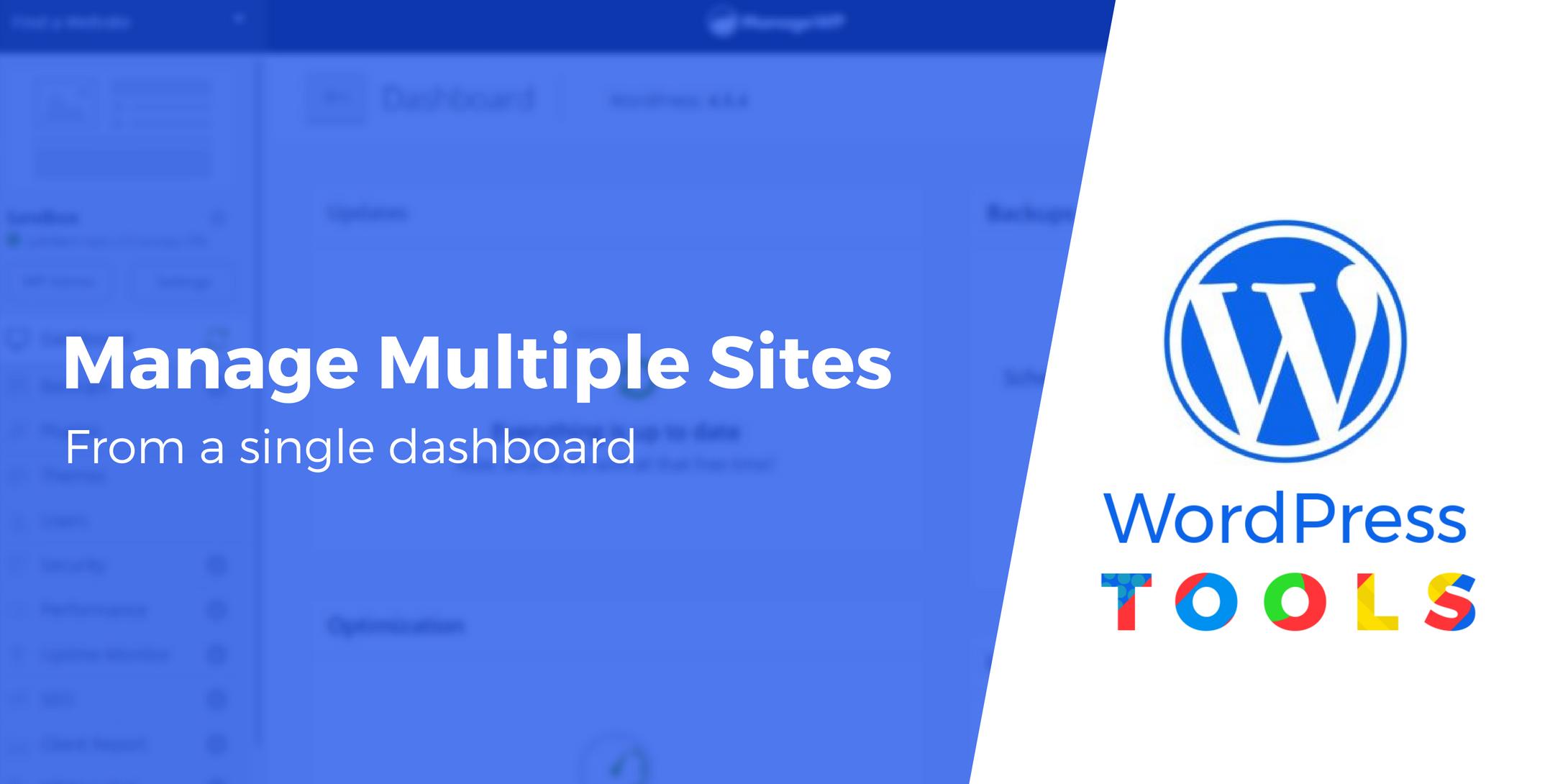 Manage Multiple WordPress Websites