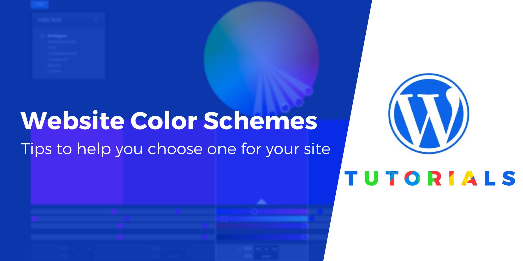 color schemes for websites