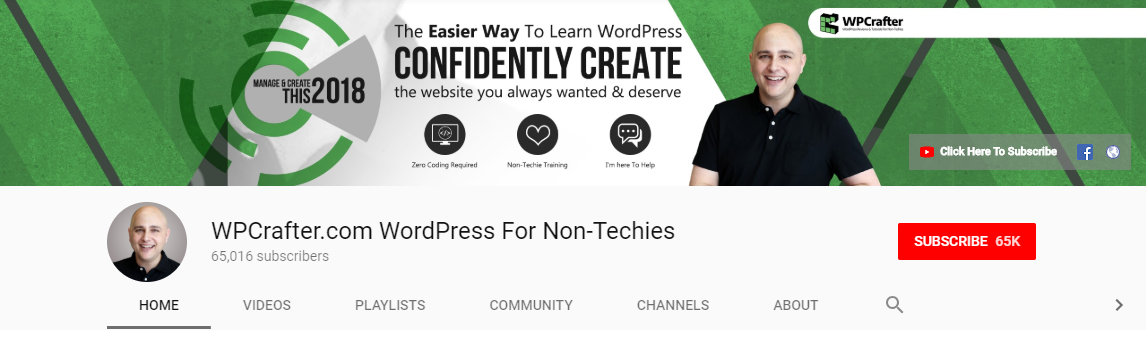 wpcrafter wordpress training videos