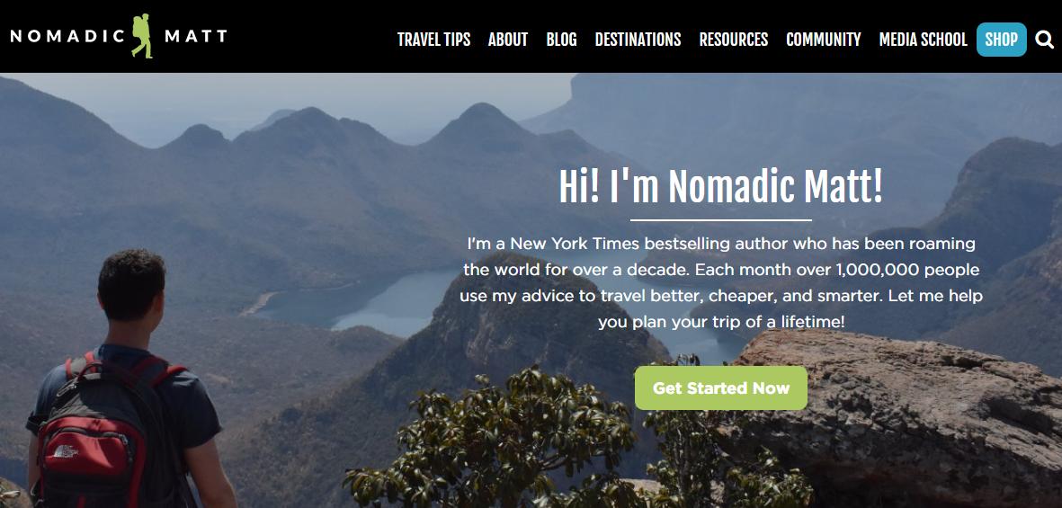 como empezar un blog de viajes