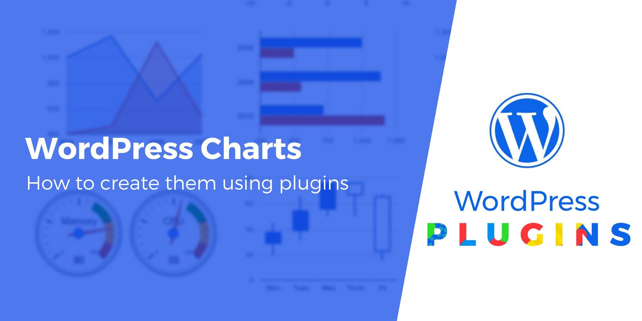 WordPress chart plugin