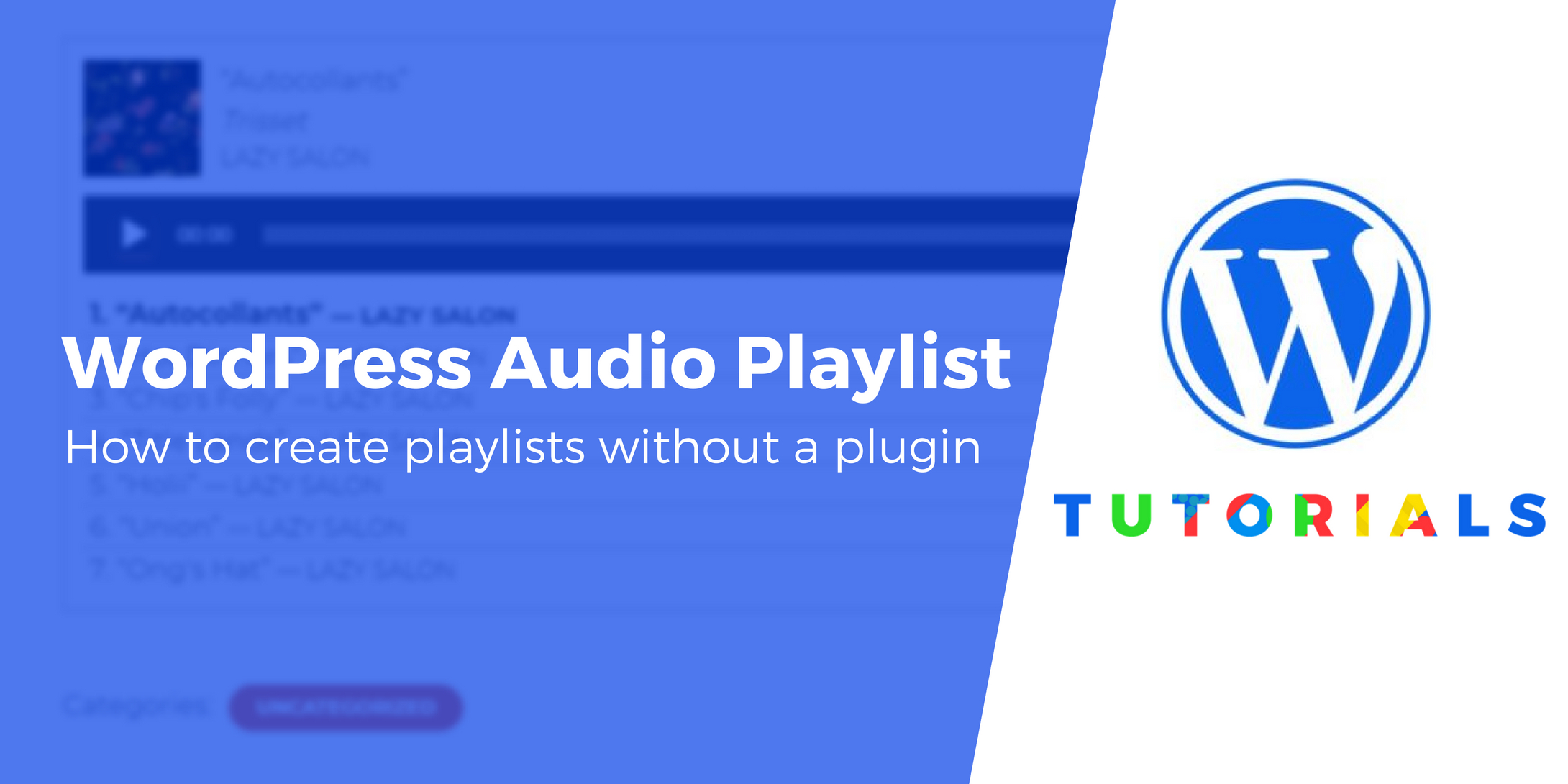 WordPress Audio Playlist