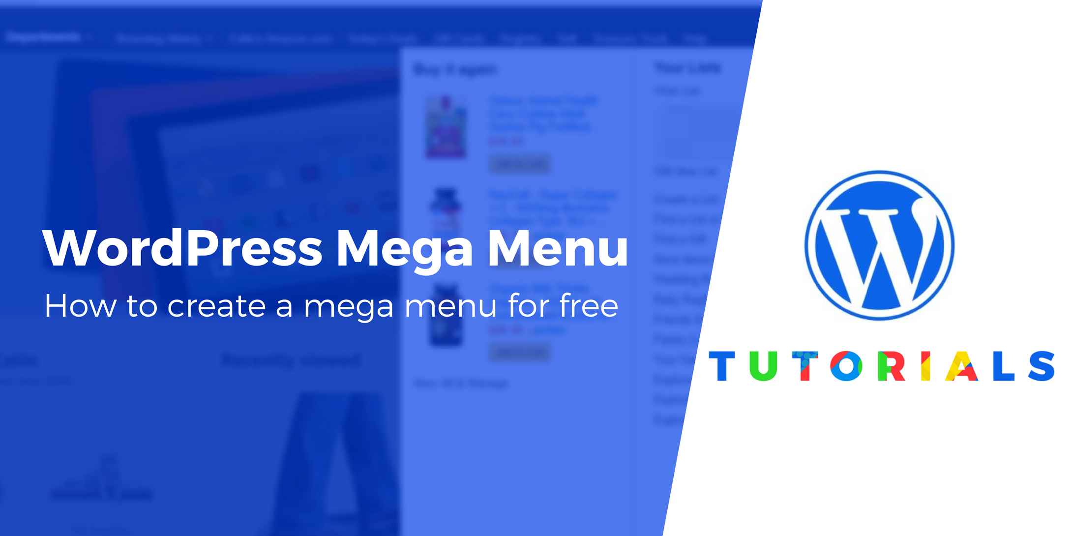 WordPress Mega Menu