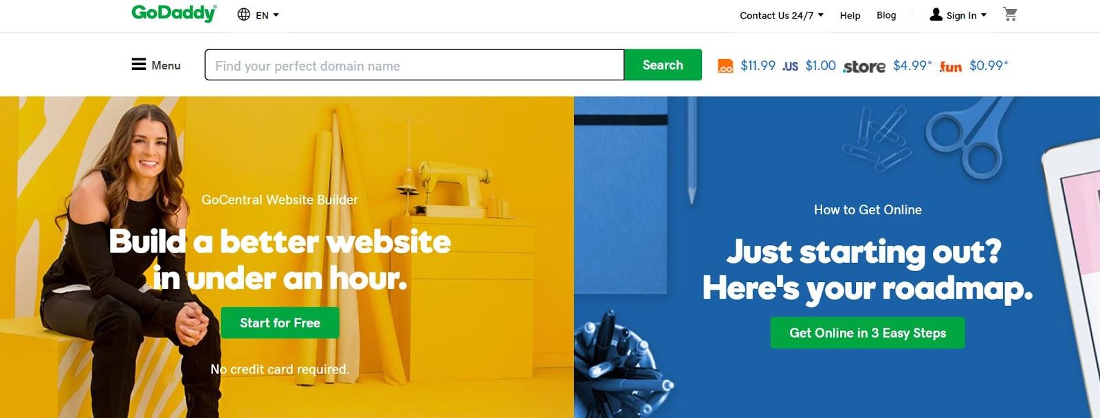 GoDaddy Domain Name Registrar