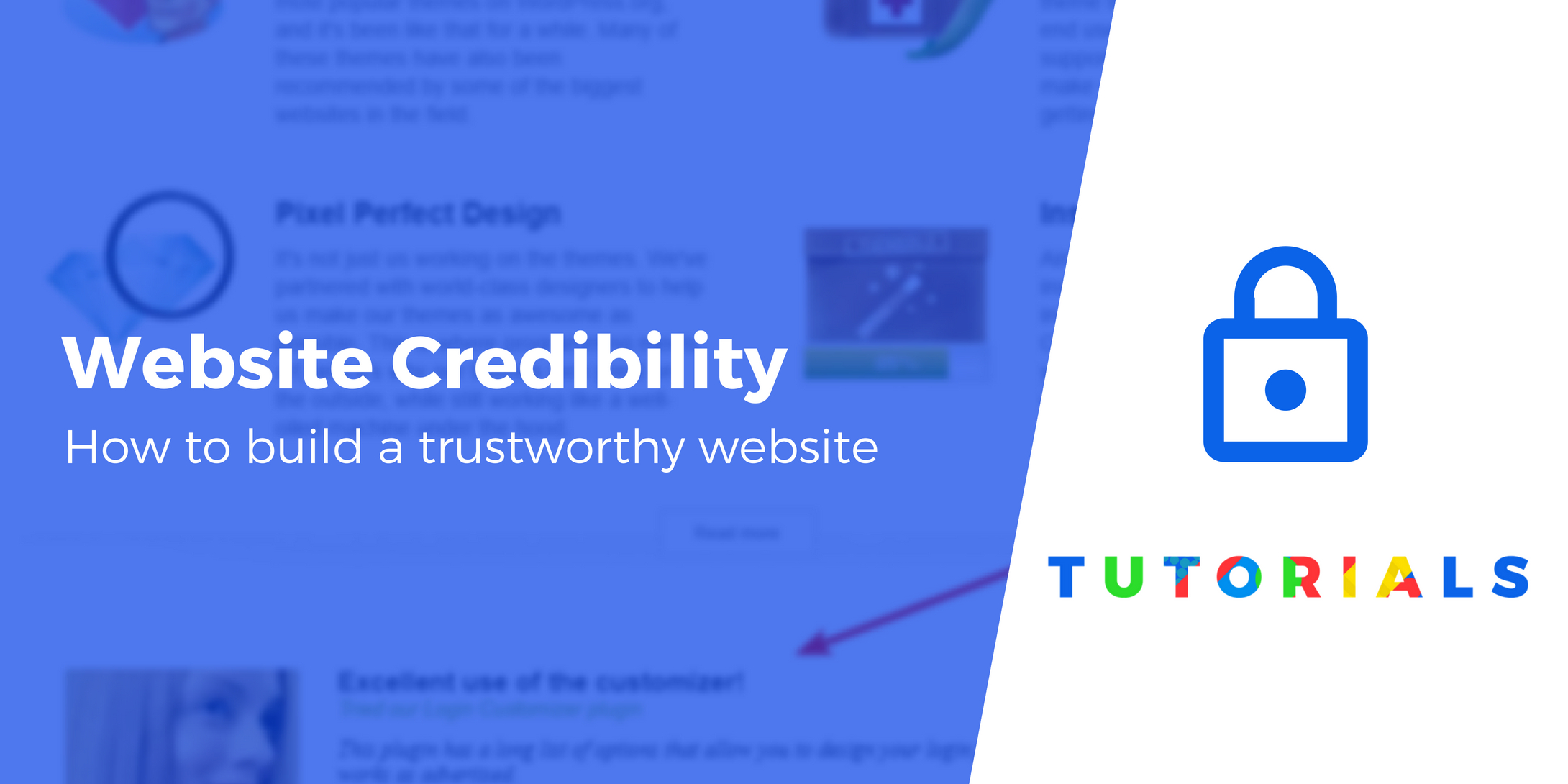 build a trustworthy website