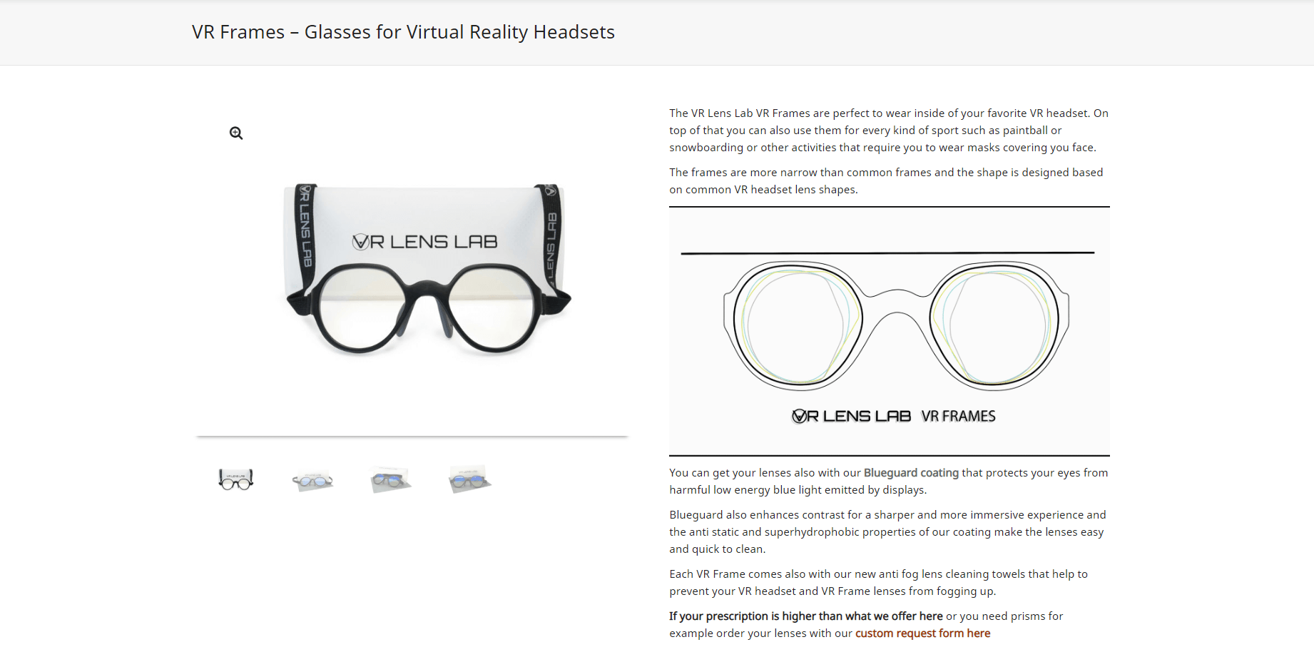 An example of a WooCommerce product description.