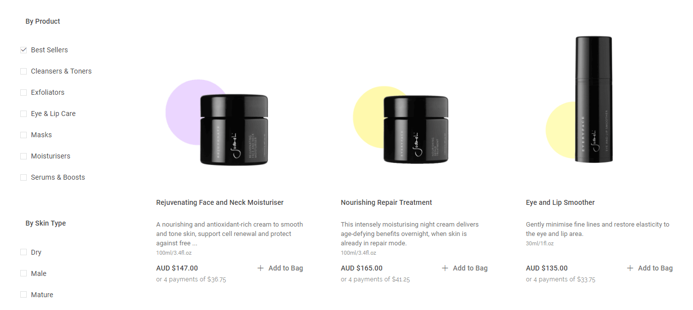 Short descriptions on WooCommerce products.