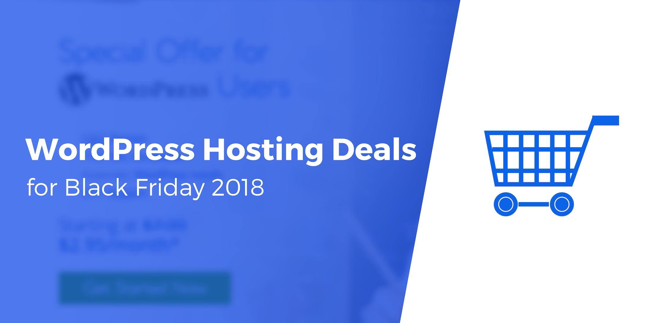 Best WordPress Hosting Deals for Black Friday 2018